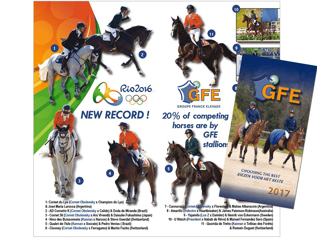 Catalogue étalons GFE International 2017