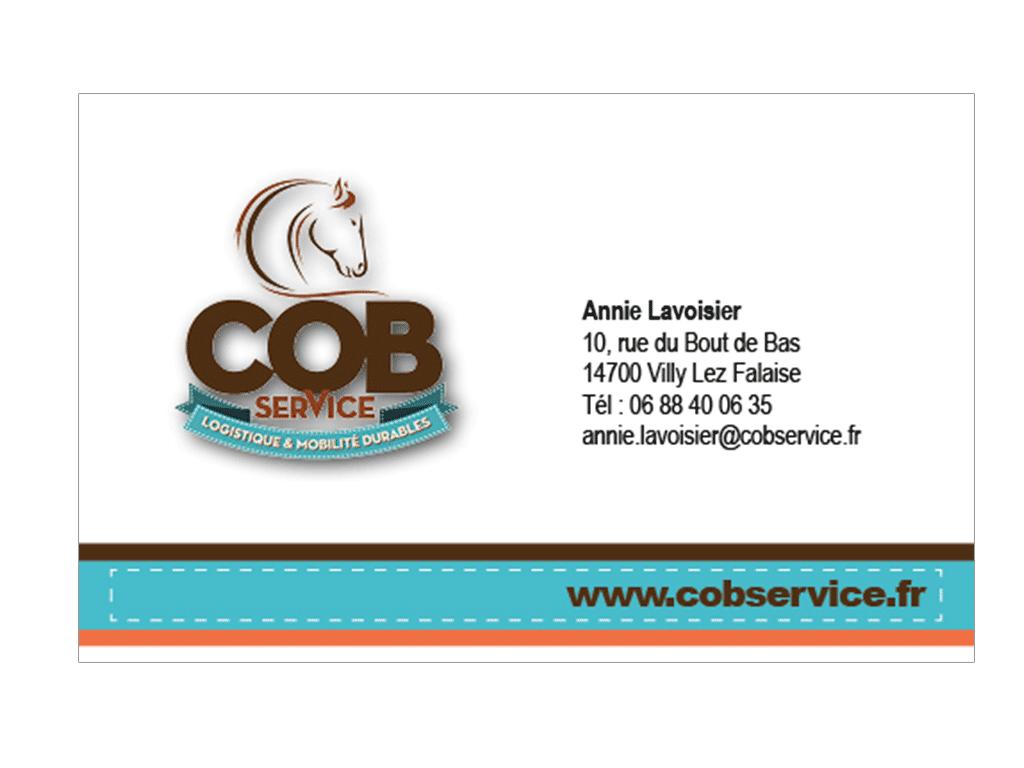 Cartes de visite Cob Service